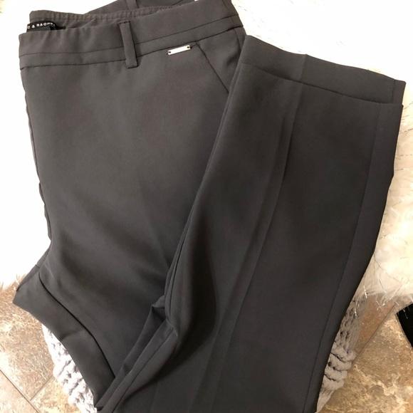 Zac & Rachel Pants - Zac and Rachel grey straight leg pants